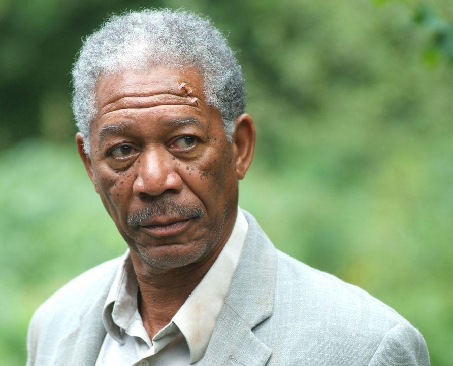 Profikiller Carden (Morgan Freeman) wird ganz schnell vom Jäger zum Gejagten ... - Bildquelle: Millennium Films
