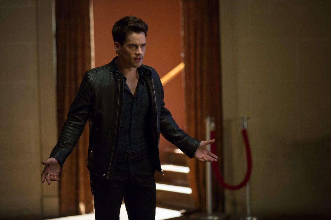 Lucien (Andrew Lees) will sich mit der Liebe seines Lebens auf ein neues Kapitel vorbereiten und seine neue Macht skrupellos auskosten, aber verläuf... - Bildquelle: Warner Bros. Entertainment, Inc.