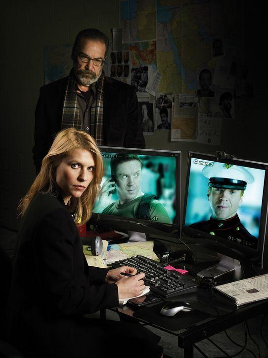 (1.Staffel) - Er hat zwei Gesichter: Der liebende Vater und heldenhafte Sergeant Nicholas Brody wird von der CIA-Agentin Carrie Mathison (Claire Dan... - Bildquelle: 20th Century Fox International Television