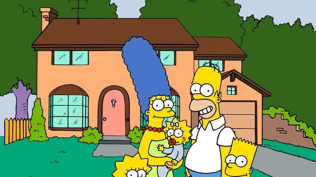 (19. Staffel) - Die Simpsons sind eine nicht alltägliche Familie: (v.l.n.r.)...