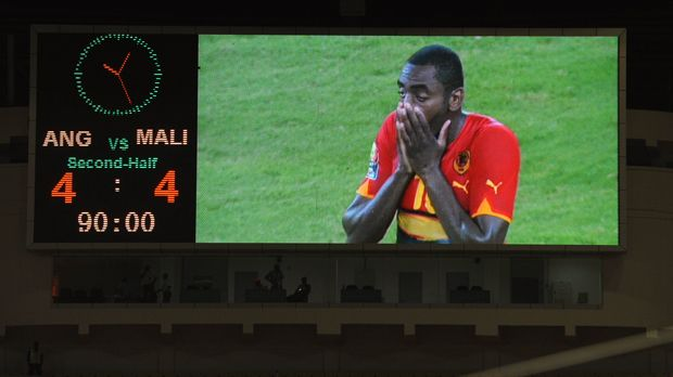 10. Januar 2010: Angola - Mali 4:4 - Bildquelle: 2010 Getty Images