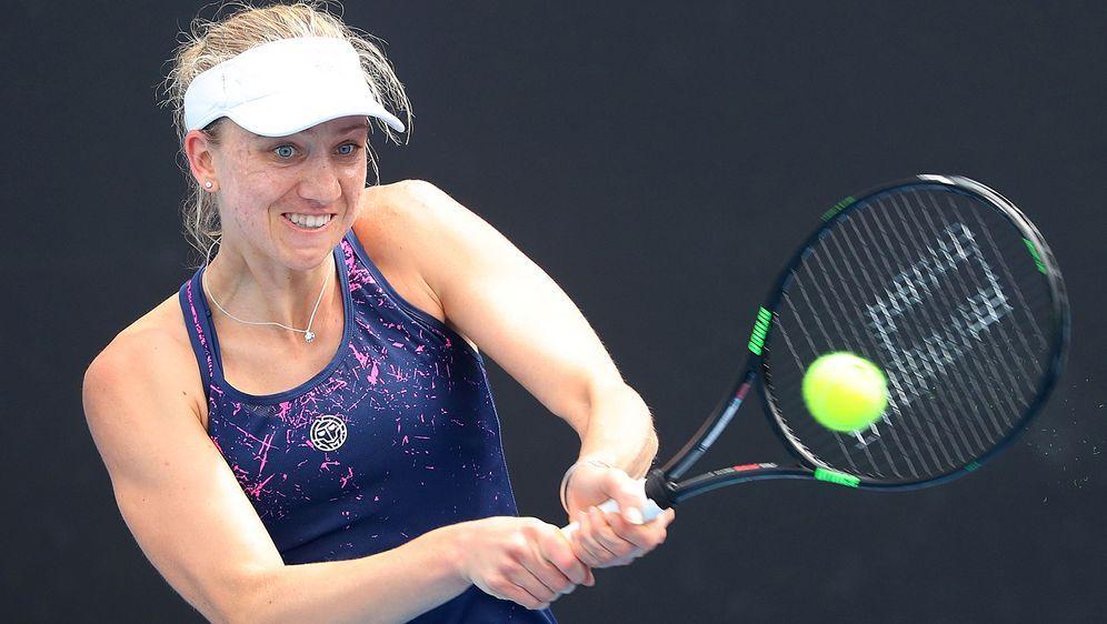 Auch Barthel scheidet aus dem WTA-Turnier aus - Bildquelle: Getty Images 2018