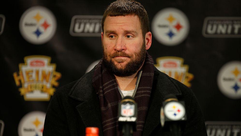 Muss das Concussion Protocol durchlaufen: Ben Roethlisberger hat im Training... - Bildquelle: Getty Images
