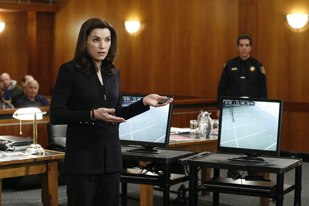 Lässt sich weder von familiären noch von beruflichen Problemen aus dem Konzept bringen: Alicia Florrick (Julianna Margulies) ... - Bildquelle: CBS Studios Inc. All Rights Reserved.