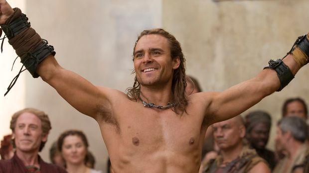 Bester Kämpfer des Hauses Batiatus: Gannicus (Dustin Clare) ... © 2010 Starz...