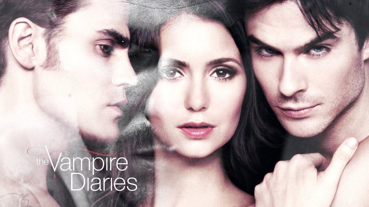 (6. Staffel) - In welcher Beziehung stehen Damon (Ian Somerhalder, l.), Elena (Nina Dobrev, M.) und Stefan (Paul Wesley, r.) zueinander, nachdem der... - Bildquelle: Warner Bros. Entertainment, Inc