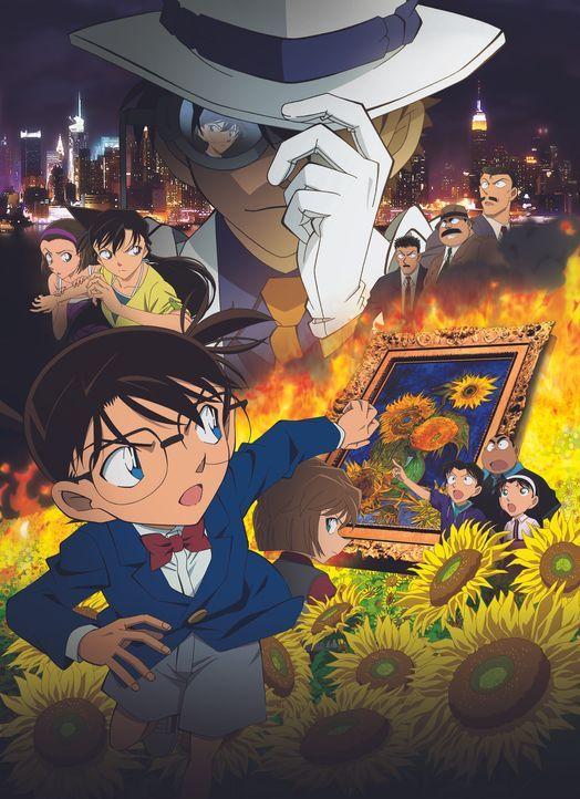 Detective Conan Movie 19 - Die Sonnenblumen des Infernos - Artwork - Bildquelle: 2015 GOSHO AOYAMA / DETECTIVE CONAN COMMITTEE  All Rights Reserved