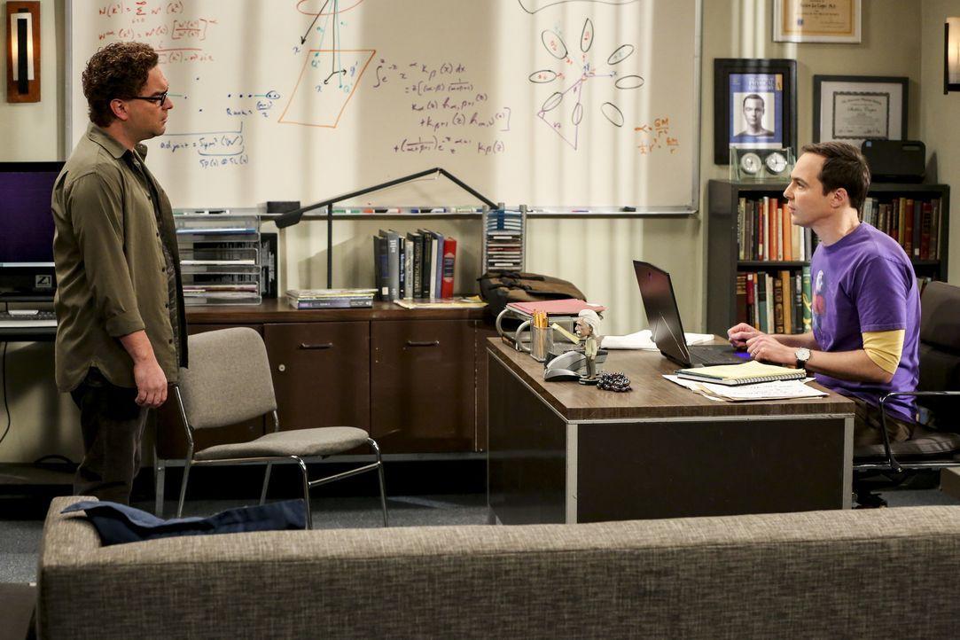 Leonard (Johnny Galecki, l.); Sheldon (Jim Parsons, r.) - Bildquelle: Warner Bros. Television