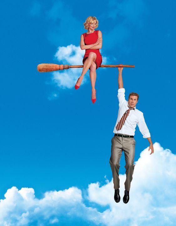 Verliebt in eine Hexe: Isabel Bigelow (Nicole Kidman, l.) und Jack Wyatt (Will Ferrell, r.) ... - Bildquelle: 2005 Columbia Pictures Industries, Inc. All Rights Reserved.