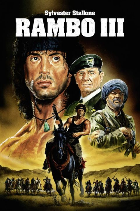 Rambo III - Plakatmotiv - Bildquelle: 1988 STUDIOCANAL. All Rights Reserved.