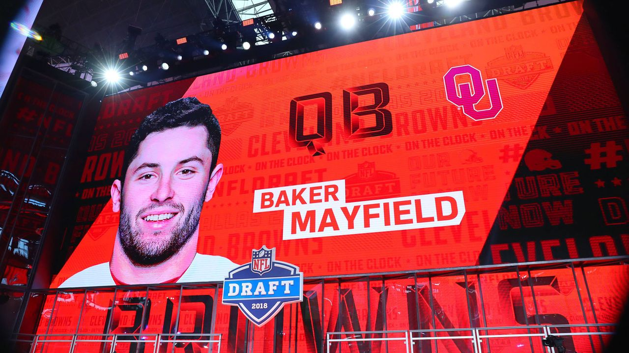 5. Baker Mayfield (Cleveland Browns) - Bildquelle: 2018 imago