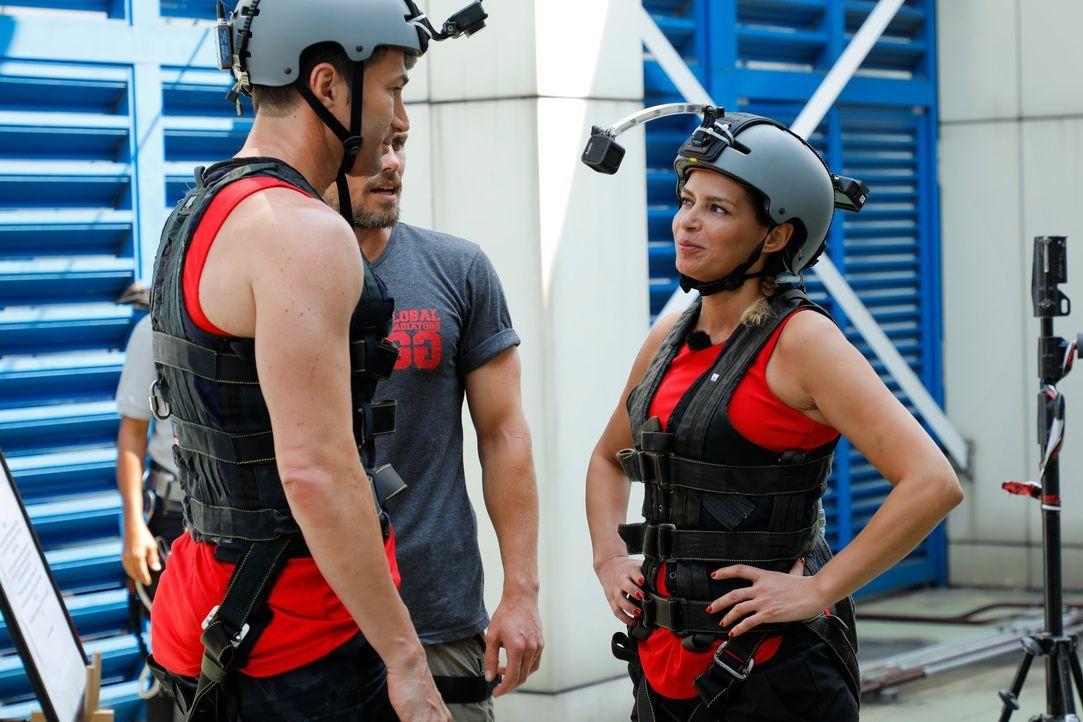 Global Gladiators Team Rot - Bildquelle: ProSieben/Richard Hübner