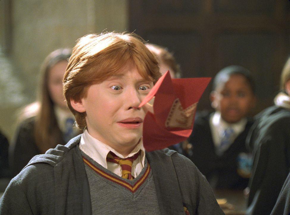 Obwohl Ron Weasley (Rupert Grint) aus einer Zaubererfamilie stammt, ist auch er nicht vor Überraschungen sicher … - Bildquelle: Warner Bros. Pictures