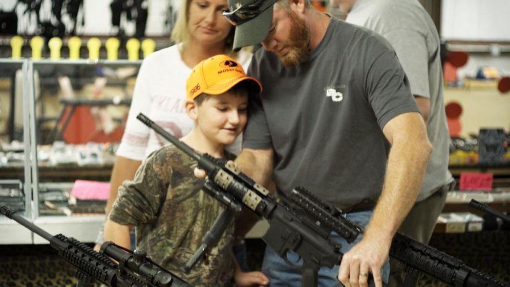 Waffenwahn in Amerika
