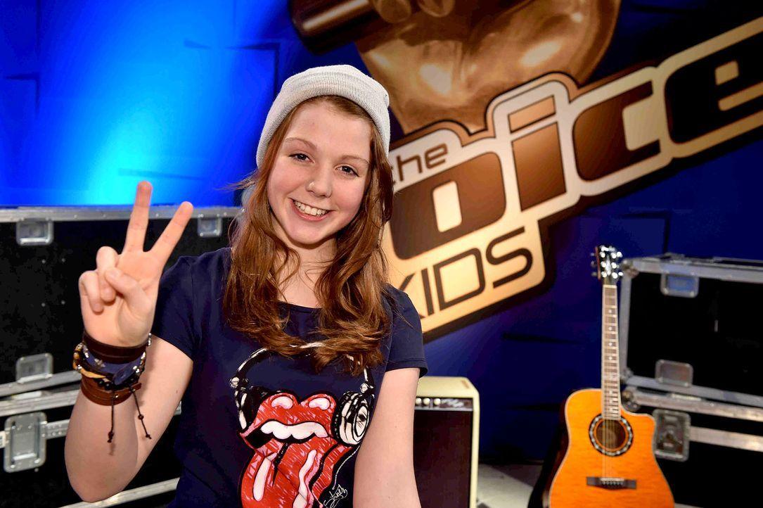 The-Voice-Kids-s03e01-danach-Liv-01 - Bildquelle: SAT.1 / Andre Kowalski