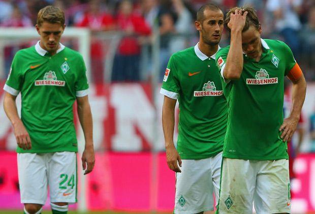 Werder mit Peinlich-Rekord - Bildquelle: getty
