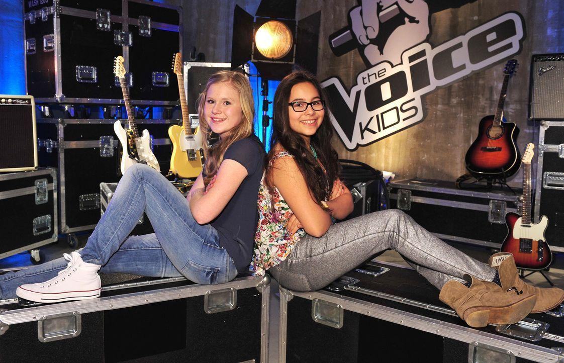 The-Voice-Kids-Stf02-Epi06-Lara-Lene-67-SAT1-Andre-Kowalski - Bildquelle: SAT.1/Andre Kowalski