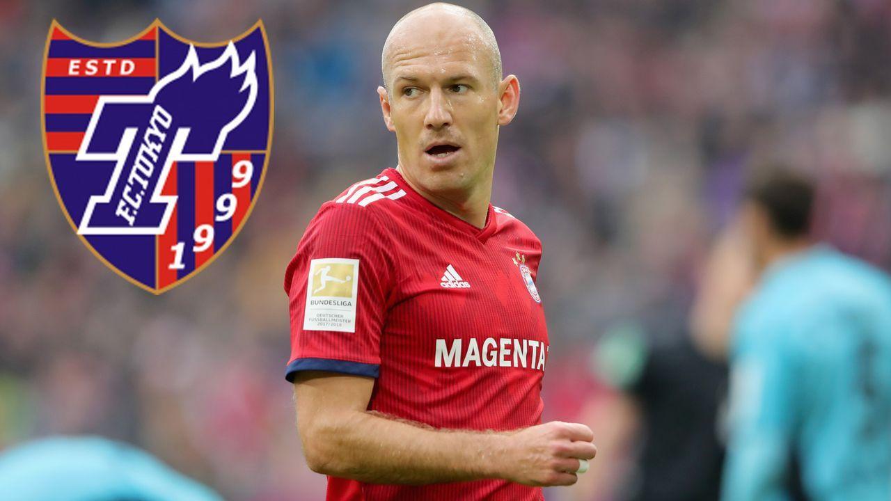Arjen Robben (FC Bayern München) - Bildquelle: 2018 Getty Images