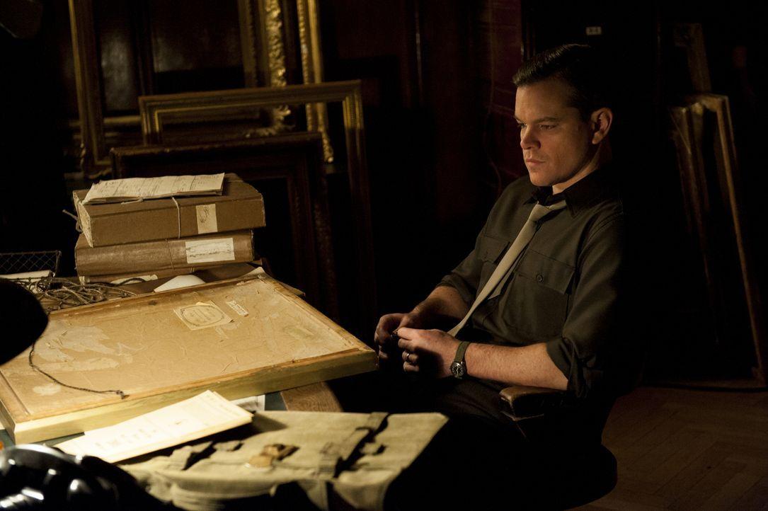 Monument Man James Granger (Matt Damon) und seine Truppe wollen die von Nazis gestohlenen Kunstwerke nicht nur wiederfinden, sondern diese auch an i... - Bildquelle: Claudette Barius 2014 Columbia Pictures Industries, Inc. and Twentieth Century Fox Film Corporation.  All rights reserved.