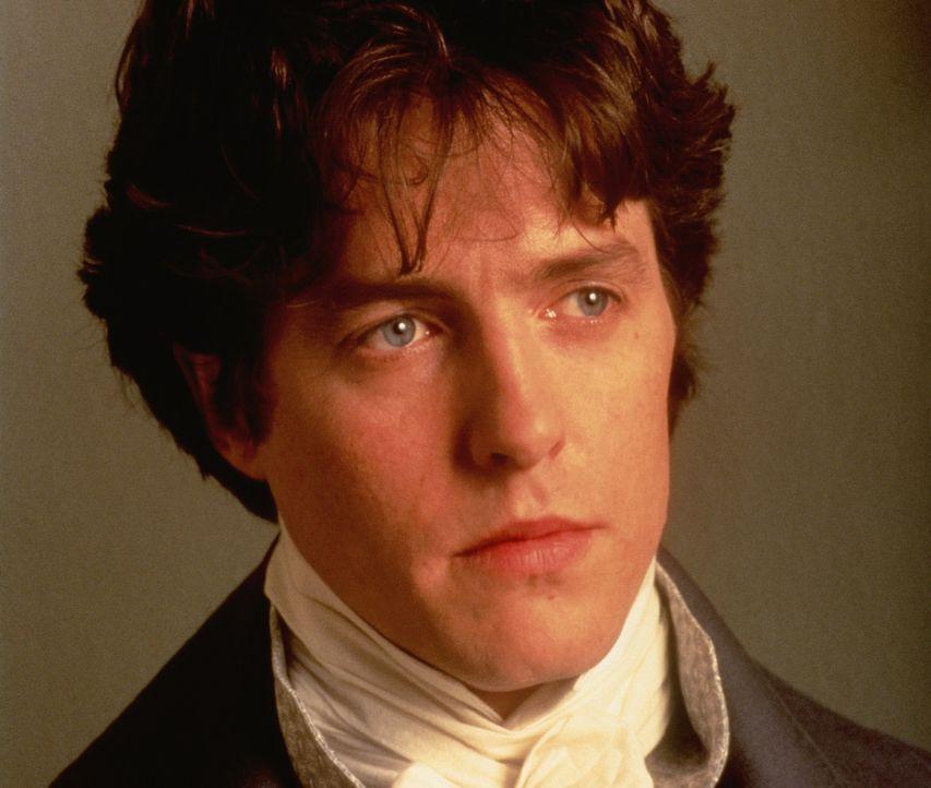 Edward (Hugh Grant) ist hin- und hergerissen: Eigentlich ist er in Elinor Dashwood verliebt, doch vor Jahren gab er einer anderen Frau das Heiratsve... - Bildquelle: Columbia Pictures