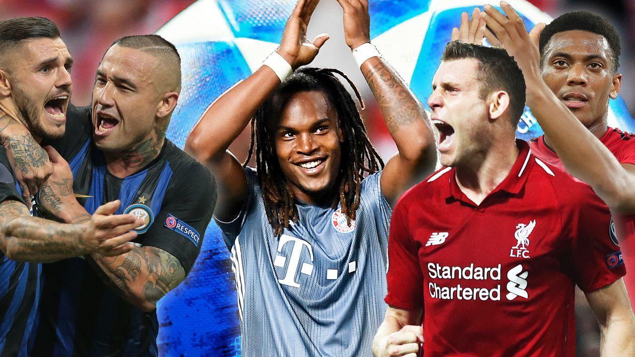 Das Power-Ranking der Champions League nach dem 1. Spieltag - Bildquelle: 2018 Getty Images