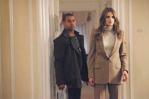 Castle - Ein neuer Fall beschäftigt Javier Esposito (Jon Huertas, l.) und Kat...