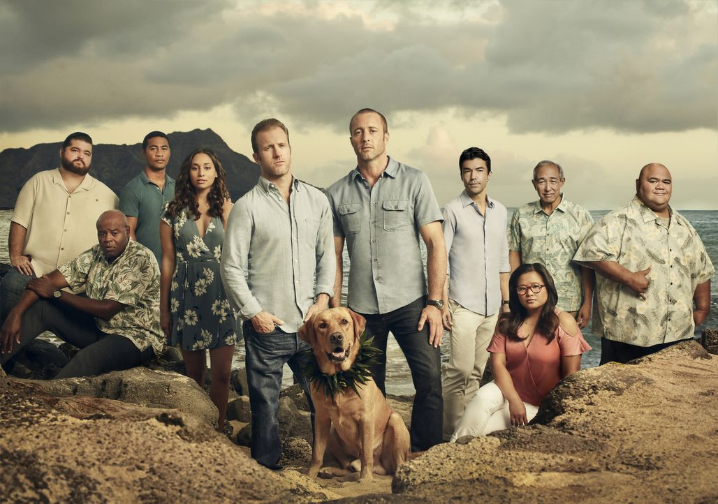 (9. Staffel) - Hawaii Five-0 - Artwork - Bildquelle: Justin Stephens Justin Stephens/CBS   2018 CBS Broadcasting Inc. All Rights Reserved.