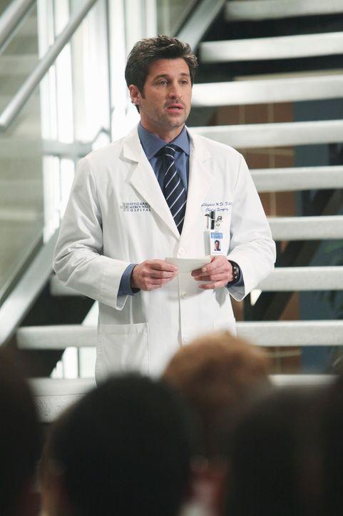 Übernimmt vorübergehend den Posten als Chief: Derek (Patrick Dempsey) ... - Bildquelle: Touchstone Television