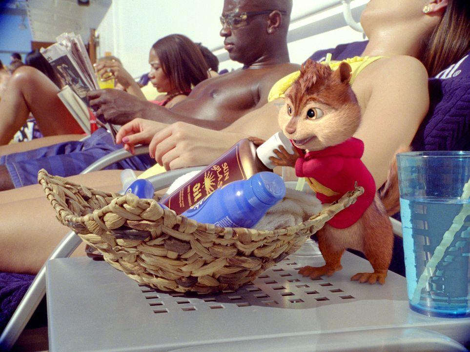 Eine Kreuzfahrt der besonderen Art wartet auf Alvin (vorne) und seine Freunde ... - Bildquelle: 2011 Twentieth Century Fox Film Corporation. All rights reserved.