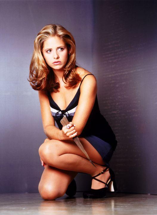 (1. Staffel) - Die Vampirjägerin Buffy Summers (Sarah Michelle Gellar) wurde auserwählt, um das Böse zu bekämpfen. - Bildquelle: (1997) Twentieth Century Fox Film Corporation.