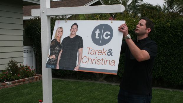 Die Arbeit ist geschafft. Tarek hofft, dass das Haus den erhofften Gewinn abw...