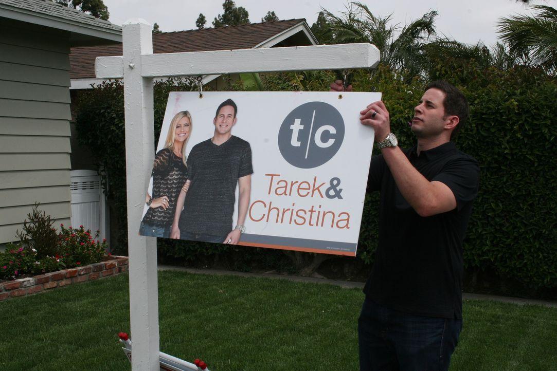 Die Arbeit ist geschafft. Tarek hofft, dass das Haus den erhofften Gewinn abwerfen wird ... - Bildquelle: 2014,HGTV/Scripps Networks, LLC. All Rights Reserved