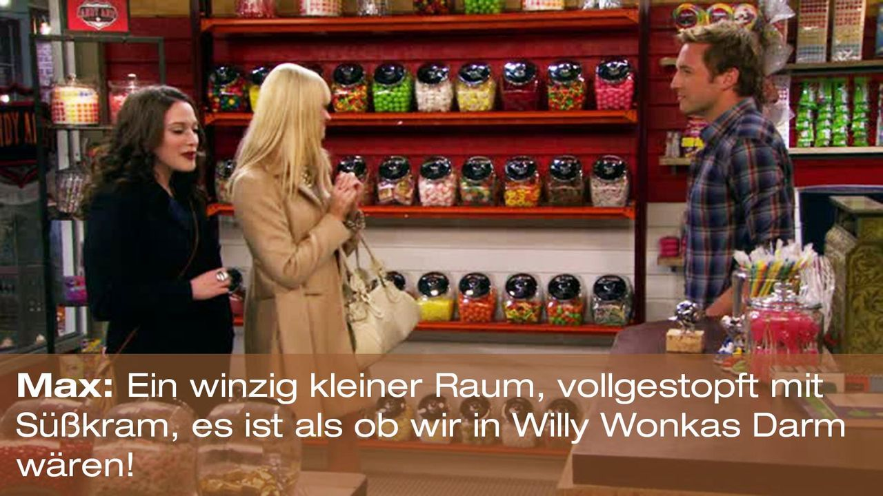 2-broke-girls-zitat-quote-staffel2-episode6-suesse-versuchung-caroline-willy-wonkas-darm-warnerpng 1600 x 900 - Bildquelle: Warner Brothers Entertainment Inc.