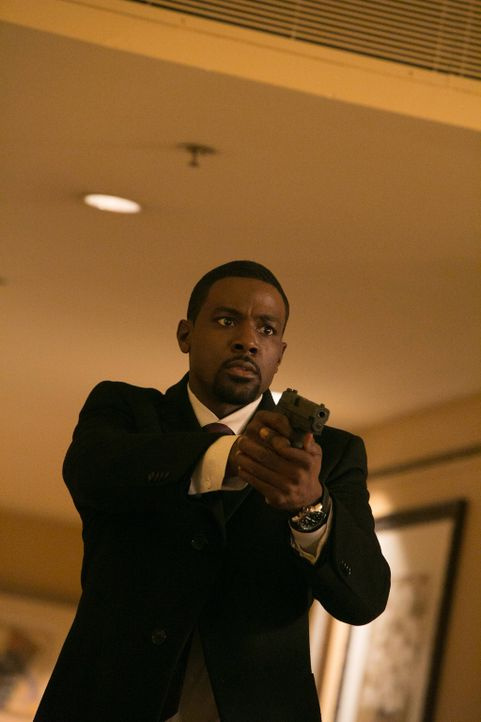 Secret Service-Agent Marcus Finley (Lance Gross) versucht alles, um die Entführer zu finden. Doch das ist leichter gesagt als getan ... - Bildquelle: 2013-2014 NBC Universal Media, LLC. All rights reserved.