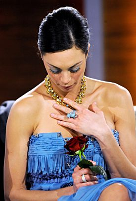"""Lilly Kerssenberg am 28. Februar 2009 bei """"Wetten das..?"""" - Bildquelle: dpa"""