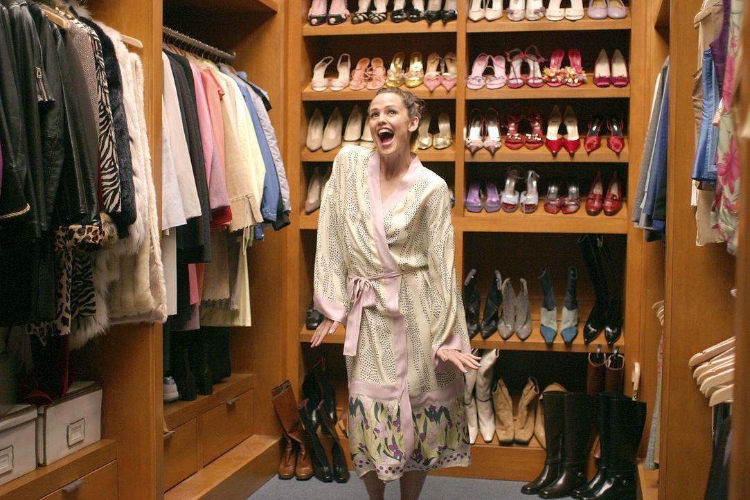 Fühlt sich wie Alice im Wunderland: Jenna Rinks (Jennifer Garner) ... - Bildquelle: Sony Pictures Television International. All Rights Reserved.