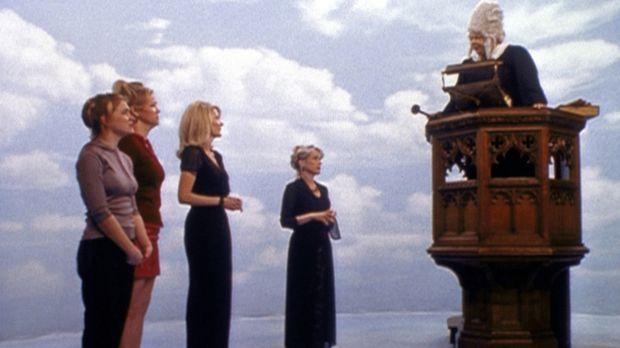 (v.l.n.r.) Sabrina (Melissa Joan Hart), Zelda (Beth Broderick), Hilda (Caroli...