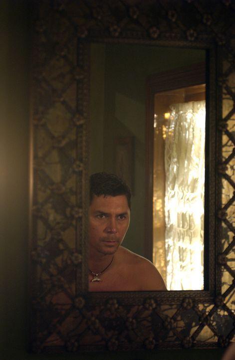 Wird von grauenvollen Alpträumen heimgesucht: Meeno (Lou Diamond Phillips) ... - Bildquelle: The Sci-Fi Channel
