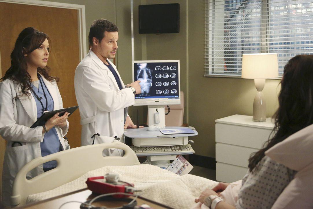Dr. Alex Karev (Justin Chambers, r.) und Dr. Jo Wilson (Camilla Luddington, l.) kämpfen täglich für ihre Patienten um Leben und Tod. Diesmal geht... - Bildquelle: ABC Studios