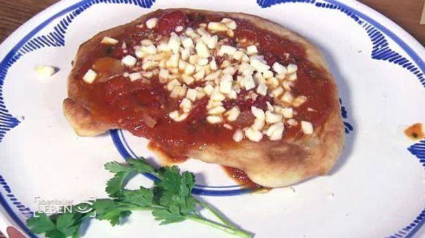 Frittierte Pizza nach TV-Koch Giovanni Tarullos Rezept
