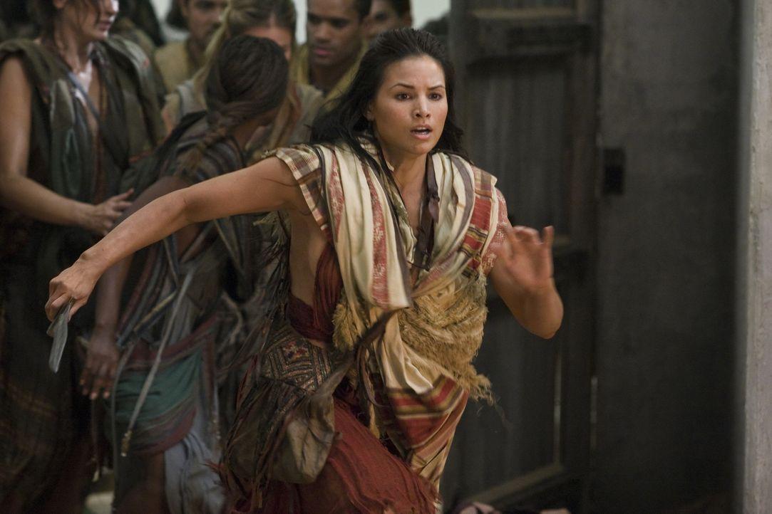 Passt immer gut auf ihren Spartacus auf: Mira (Katrina Law) ... - Bildquelle: 2011 Starz Entertainment, LLC. All rights reserved.