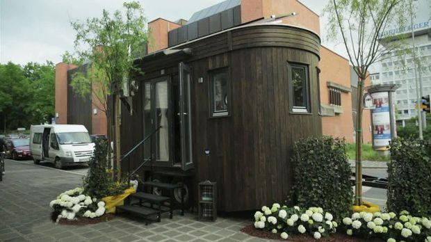 faszination mobiles und autarkes wohnen. Black Bedroom Furniture Sets. Home Design Ideas