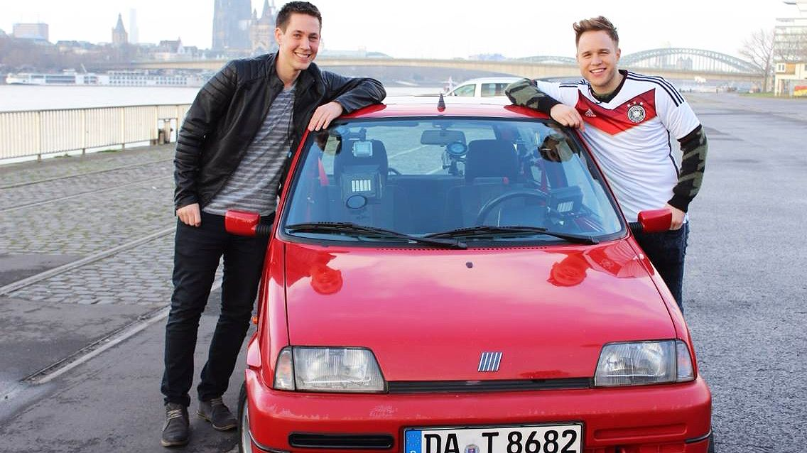 Stars in Cars mit Olly Murs