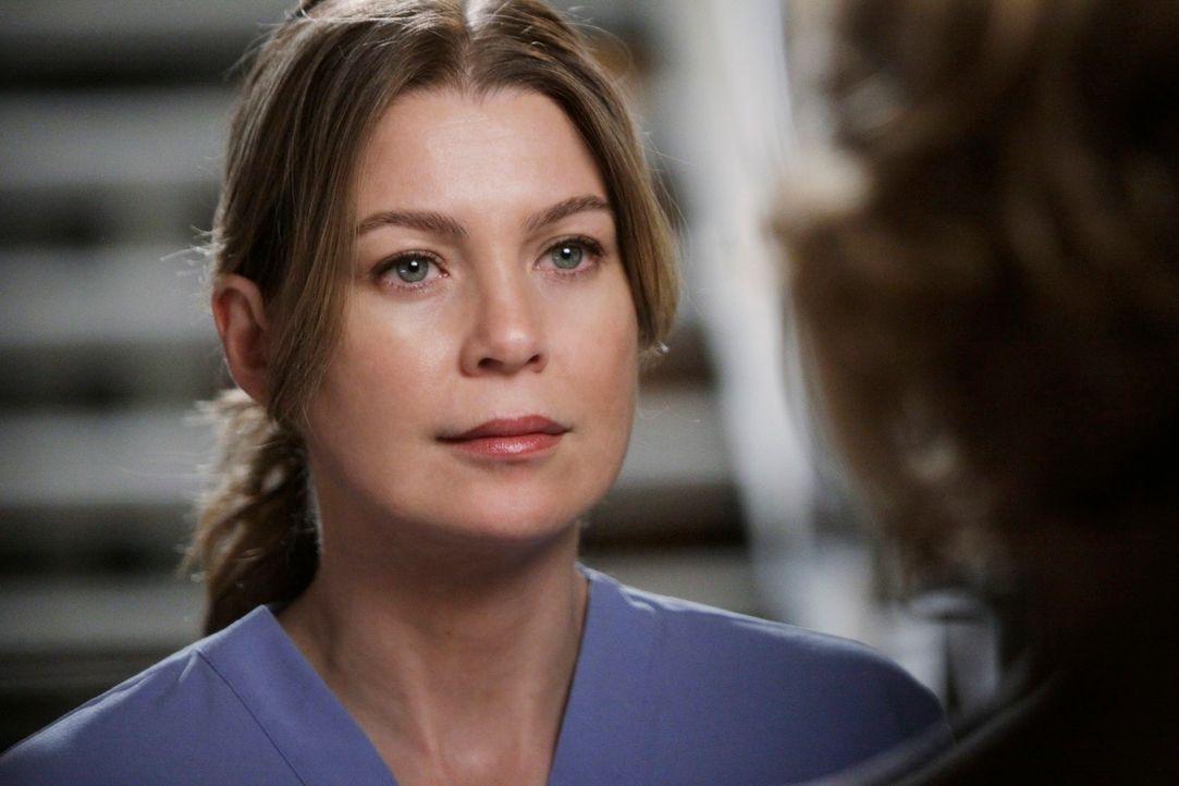 Versucht zu verhindern, dass Derek Webber beim Vorstand verpfeift: Meredith (Ellen Pompeo) ... - Bildquelle: Touchstone Television