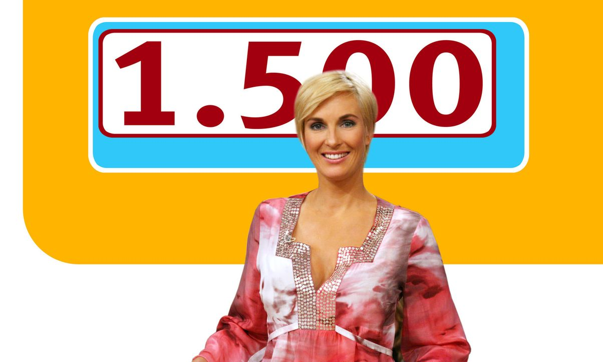"""Heute feiert Britt Hagedorn ein ganz besonderes Jubiläum: Ihre 1500. Ausgabe von """"Britt""""! - Bildquelle: Max Moos Sat.1"""