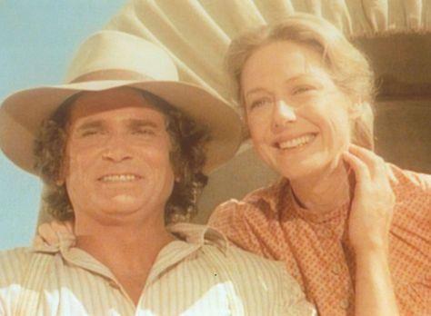 Unsere kleine Farm - Charles (Michael Landon, l.) und Caroline (Karen Grassle...