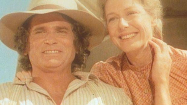 Charles (Michael Landon, l.) und Caroline (Karen Grassle, r.) wollen einen Ne...