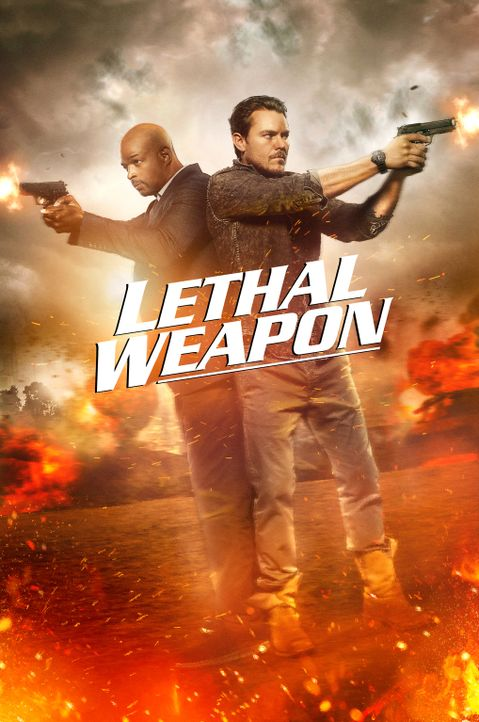 (1. Staffel) - Kriminelle haben bei Martin Riggs (Clayne Crawford, r.) und Roger Murtaugh (Damon Wayans, l.) keine Chance ... - Bildquelle: 2016 Warner Brothers