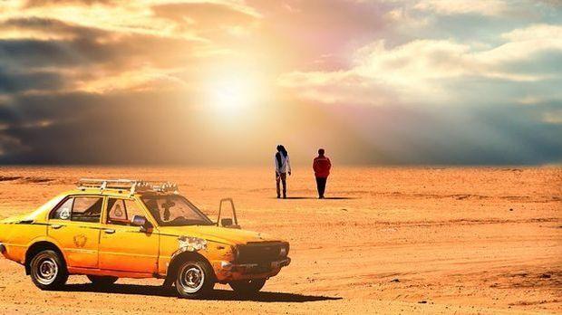 Auto-Wüste