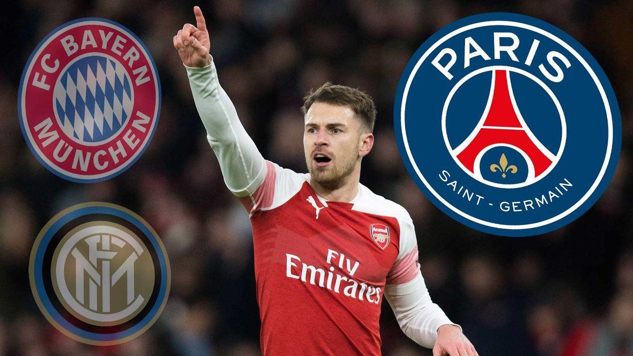 Aaron Ramsey (FC Arsenal) - Bildquelle: imago
